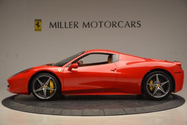 Used 2014 Ferrari 458 Spider for sale Sold at Alfa Romeo of Greenwich in Greenwich CT 06830 15