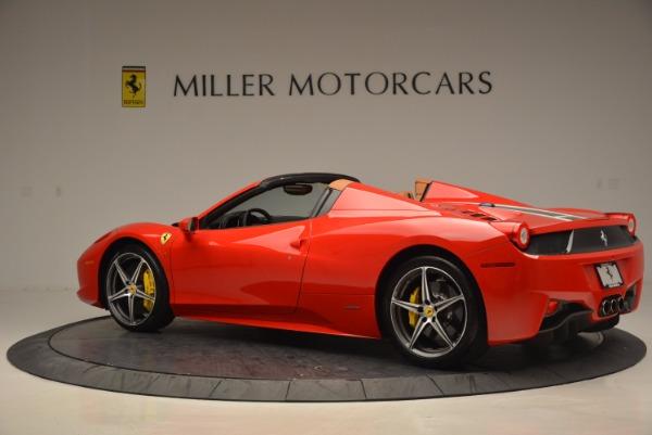 Used 2014 Ferrari 458 Spider for sale Sold at Alfa Romeo of Greenwich in Greenwich CT 06830 4