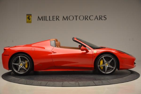 Used 2014 Ferrari 458 Spider for sale Sold at Alfa Romeo of Greenwich in Greenwich CT 06830 9