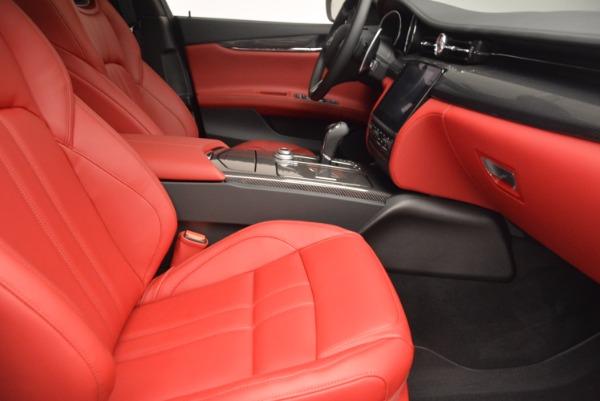 New 2017 Maserati Quattroporte S Q4 GranSport for sale Sold at Alfa Romeo of Greenwich in Greenwich CT 06830 25