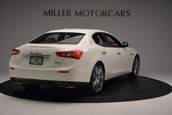 New 2017 Maserati Ghibli SQ4 for sale Sold at Alfa Romeo of Greenwich in Greenwich CT 06830 7