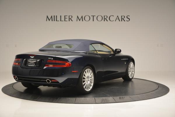 Used 2007 Aston Martin DB9 Volante for sale Sold at Alfa Romeo of Greenwich in Greenwich CT 06830 19