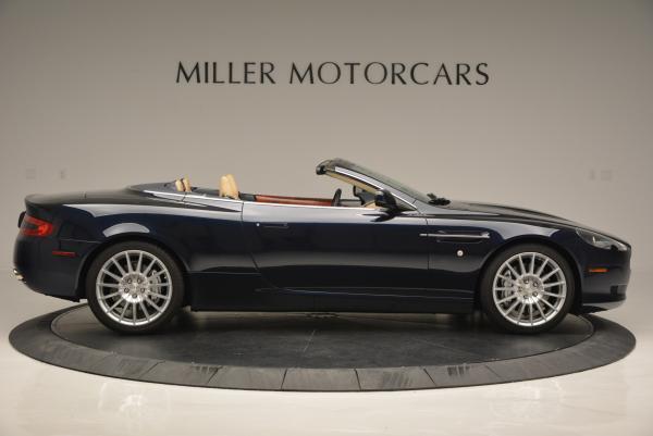 Used 2007 Aston Martin DB9 Volante for sale Sold at Alfa Romeo of Greenwich in Greenwich CT 06830 9