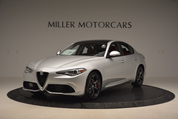 New 2017 Alfa Romeo Giulia Ti Q4 for sale Sold at Alfa Romeo of Greenwich in Greenwich CT 06830 4