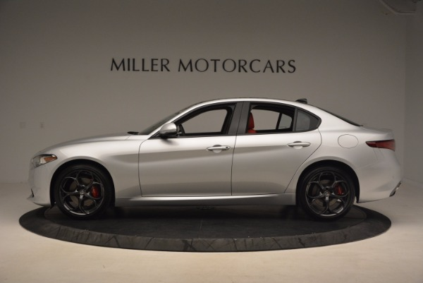 New 2017 Alfa Romeo Giulia Ti Q4 for sale Sold at Alfa Romeo of Greenwich in Greenwich CT 06830 5