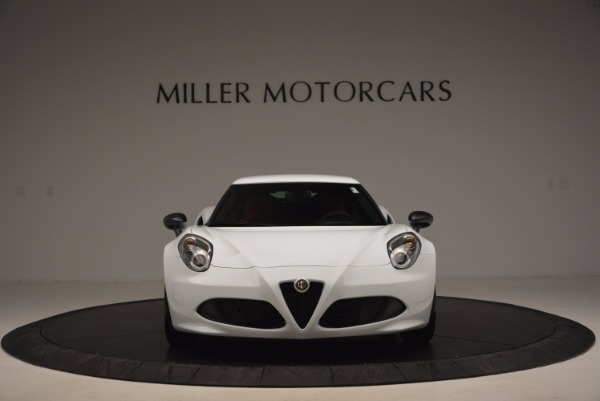 New 2016 Alfa Romeo 4C Coupe for sale Sold at Alfa Romeo of Greenwich in Greenwich CT 06830 12