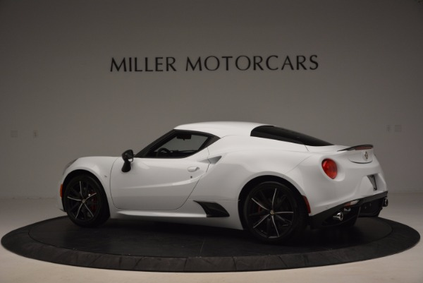 New 2016 Alfa Romeo 4C Coupe for sale Sold at Alfa Romeo of Greenwich in Greenwich CT 06830 4