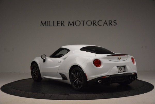 New 2016 Alfa Romeo 4C Coupe for sale Sold at Alfa Romeo of Greenwich in Greenwich CT 06830 5