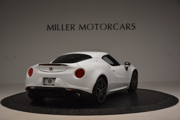 New 2016 Alfa Romeo 4C Coupe for sale Sold at Alfa Romeo of Greenwich in Greenwich CT 06830 7
