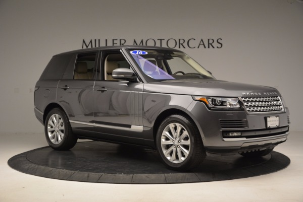 Used 2016 Land Rover Range Rover HSE TD6 for sale Sold at Alfa Romeo of Greenwich in Greenwich CT 06830 10