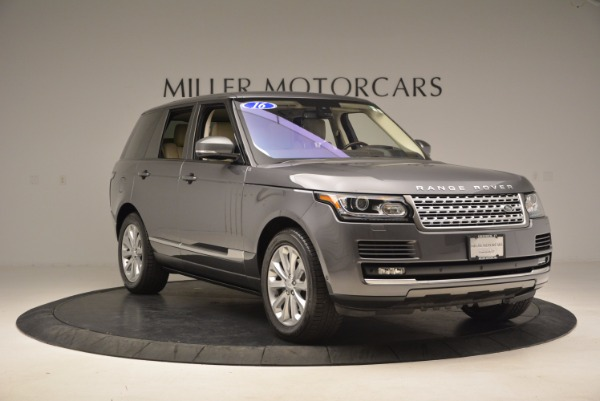 Used 2016 Land Rover Range Rover HSE TD6 for sale Sold at Alfa Romeo of Greenwich in Greenwich CT 06830 11