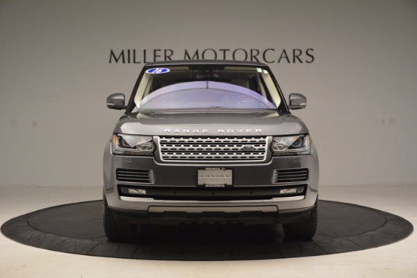 Used 2016 Land Rover Range Rover HSE TD6 for sale Sold at Alfa Romeo of Greenwich in Greenwich CT 06830 12