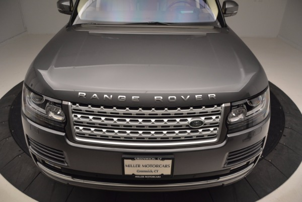 Used 2016 Land Rover Range Rover HSE TD6 for sale Sold at Alfa Romeo of Greenwich in Greenwich CT 06830 13