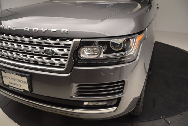 Used 2016 Land Rover Range Rover HSE TD6 for sale Sold at Alfa Romeo of Greenwich in Greenwich CT 06830 14