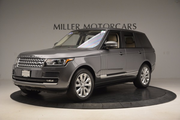Used 2016 Land Rover Range Rover HSE TD6 for sale Sold at Alfa Romeo of Greenwich in Greenwich CT 06830 2