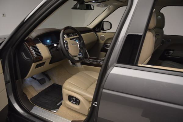 Used 2016 Land Rover Range Rover HSE TD6 for sale Sold at Alfa Romeo of Greenwich in Greenwich CT 06830 21