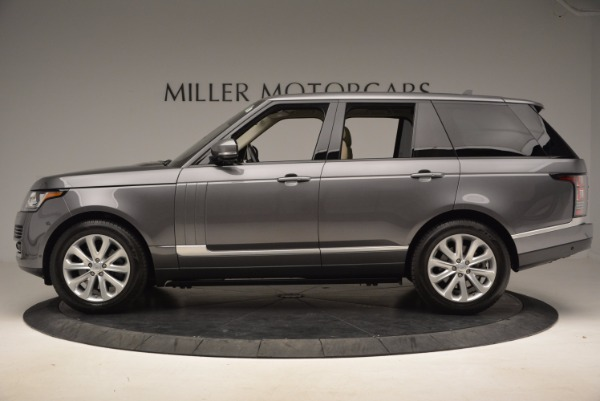 Used 2016 Land Rover Range Rover HSE TD6 for sale Sold at Alfa Romeo of Greenwich in Greenwich CT 06830 3