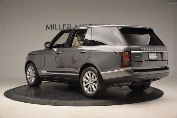 Used 2016 Land Rover Range Rover HSE TD6 for sale Sold at Alfa Romeo of Greenwich in Greenwich CT 06830 4