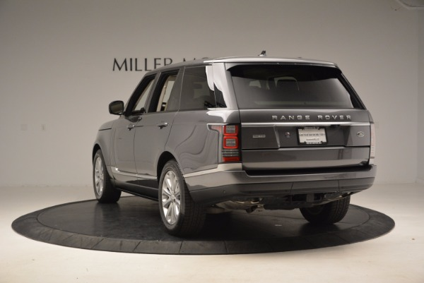 Used 2016 Land Rover Range Rover HSE TD6 for sale Sold at Alfa Romeo of Greenwich in Greenwich CT 06830 5