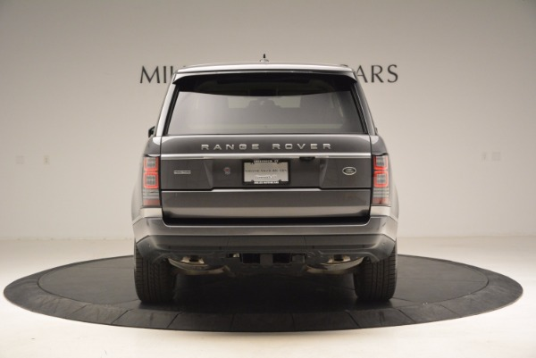 Used 2016 Land Rover Range Rover HSE TD6 for sale Sold at Alfa Romeo of Greenwich in Greenwich CT 06830 6