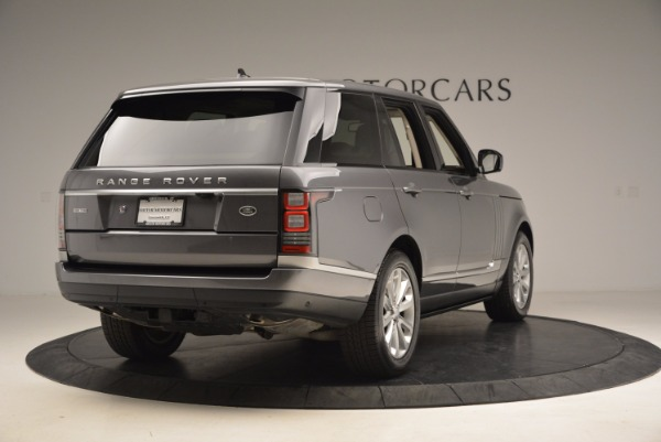Used 2016 Land Rover Range Rover HSE TD6 for sale Sold at Alfa Romeo of Greenwich in Greenwich CT 06830 7
