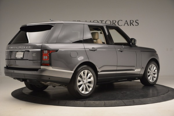 Used 2016 Land Rover Range Rover HSE TD6 for sale Sold at Alfa Romeo of Greenwich in Greenwich CT 06830 8